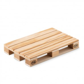 promotional pallet shape wooden coaster MOB-MO9504