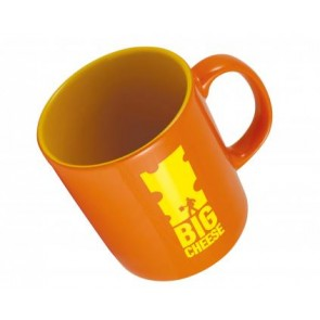 promotional pantone matched durham glazed colourcoat mug LSW-12501DUR