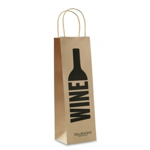 promotional paper bottle bags  MOB-MO8975
