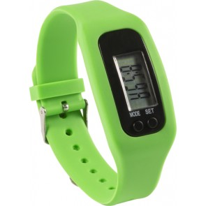 promotional pedometer with silicone wristband IME-8498