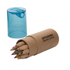 promotional pencil crayon tubes SEU-ST2507