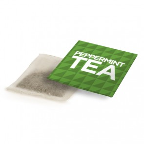 promotional peppermint tea bag envelopes BIT-M12638