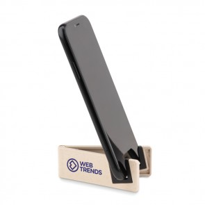 promotional phone holder bamboo fibre/pp MOB-MO9994