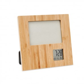 promotional photo frame with weather statiomo9695 40 MOB-MO9695