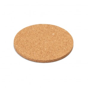 promotional pisani round cork coaster STR-93828