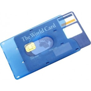 promotional plastic cards holder IME-8358