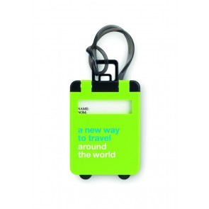 promotional plastic luggage tags MOB-MO8718