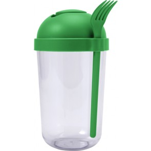promotional plastic salad cup with plastic forks IME-7927