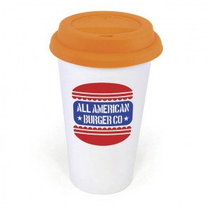 promotional plastic take out mugs LTX-MG0805