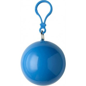 promotional poncho in a snap hook ball  IME-9137