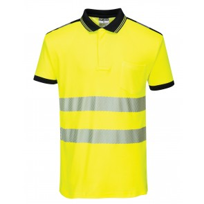 promotional portwest hi vis polo shirt with pocket RAL-PW368