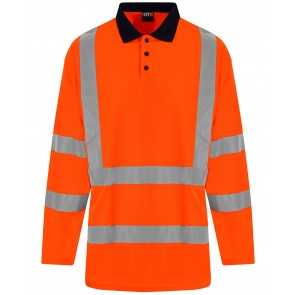 promotional pro rtx  high vis long sleeve polo RAL-RX715