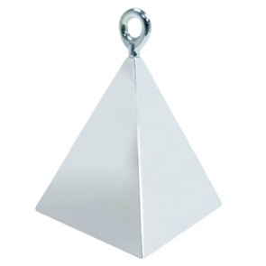 promotional pyramid shaped balloon weights BLY-PSBW