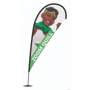 promotional quill feather flags ULT-UF-ZM-SMT
