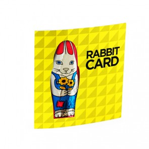 promotional rabbit card BIT-M11769.1