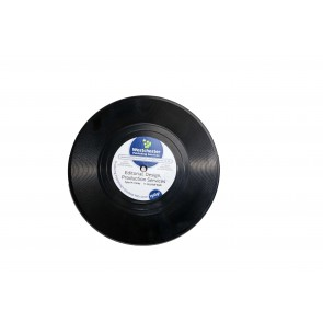promotional record coasters GCP-RC0001