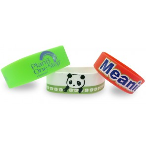 promotional single colour wristband   large PMT-USW21