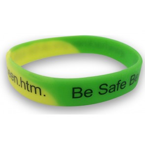 promotional multi colour wristband PMT-USW41