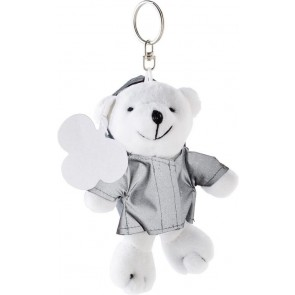 promotional reflective polar bear keyrings IME-1306