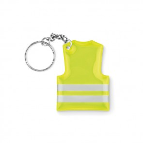 promotional reflective pvc vest keyrings MOB-MO9199