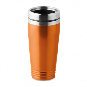 promotional rodeo colour double wall travel cups MOB-MO9618