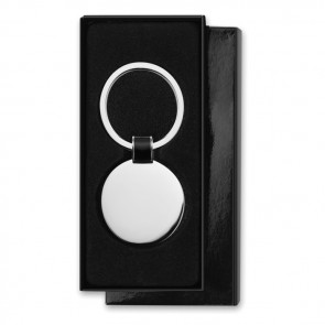 promotional round shaped key ring MOB-MO8462