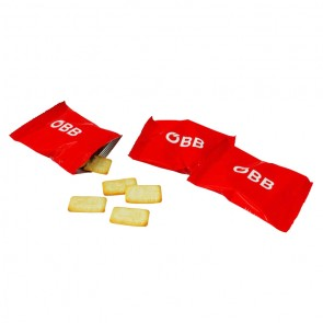 promotional savoury biscuits in flow pack IMC-C-0316
