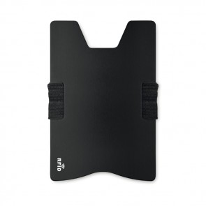 promotional secur aluminium rfid card holders MOB-MO9437