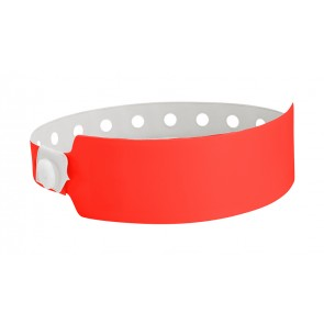 promotional security wristbands   wide vinyl SEU-HP8604
