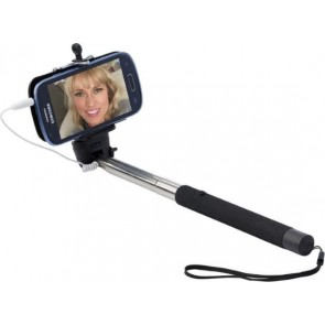 promotional selfie stick with push buttons IME-9219