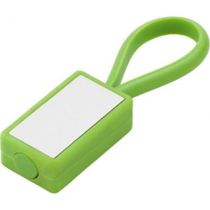 promotional silicone loop keyrings IME-5717