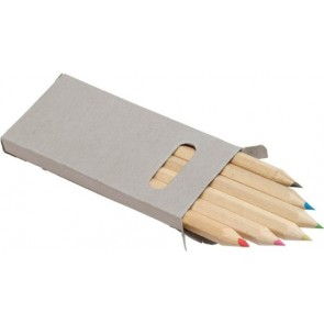 promotional six colour pencil sets IME-2432