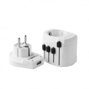 promotional skross pro world travel adapters MOB-MO9321