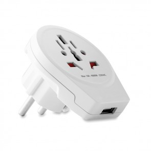 promotional skross world to europe usb adaptors MOB-MO9449