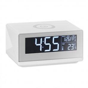 promotional sky led clock & wireless chargers MOB-MO9588