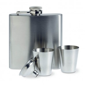 promotional annaska slim hip flasks MOB-MO8321