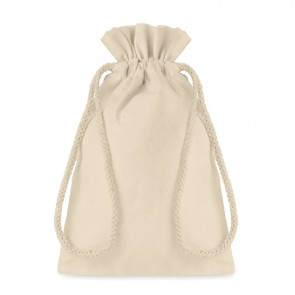 promotional small cotton draw cord bag MOB-MO9728