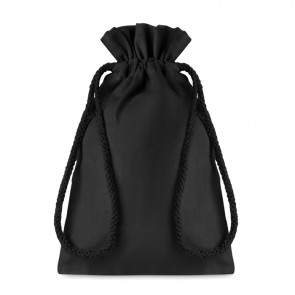 promotional small cotton draw cord bag MOB-MO9729