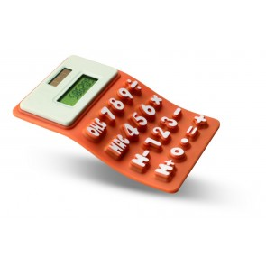 promotional solar powered silicone calculators  MOB-MO7435