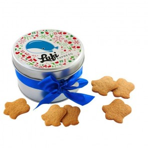 promotional spiced biscuits in metal tin IMC-C-0333