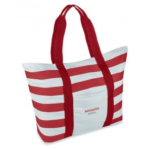 promotional striped beach bags MOB-MO8709