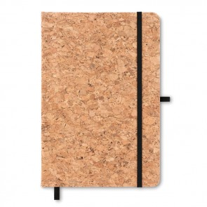 promotional suber a5 notebook with cork covers MOB-MO9623