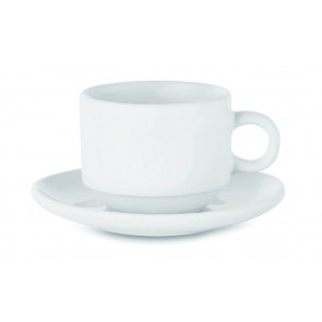 promotional sublimation cups and saucers  MOB-MO9132