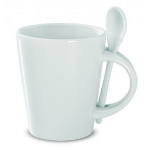 promotional sublimation mugs with spoons MOB-MO8442