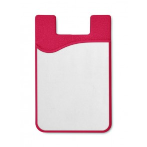 promotional sublimation silicone cardholders  MOB-MO9073