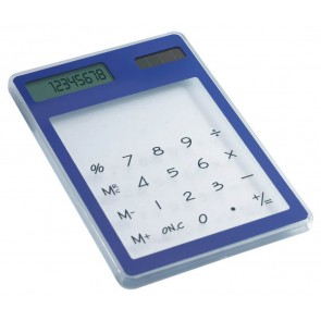 promotional transparent solar calculators MOB-IT3791