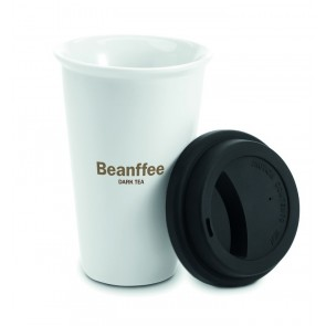 promotional travel cups with silicone lids MOB-MO8130