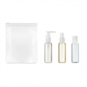 promotional travel set pe in peva pouch MOB-MO9886