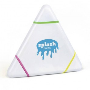 promotional triangle highlighters  LTX-PN0605