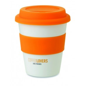 promotional tumblers with silicone lids MOB-MO8078